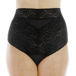 Lovely Lace L109 Black Front